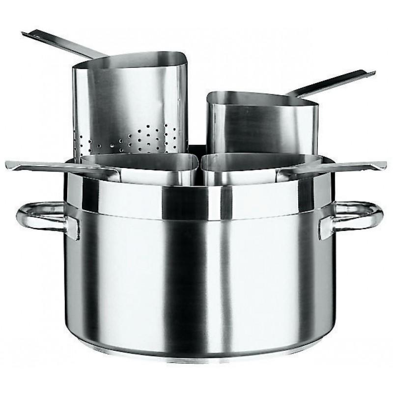 Colapasta spicchi 1 4 acciaio inox accessori cucina paderno for Accessori cucina acciaio