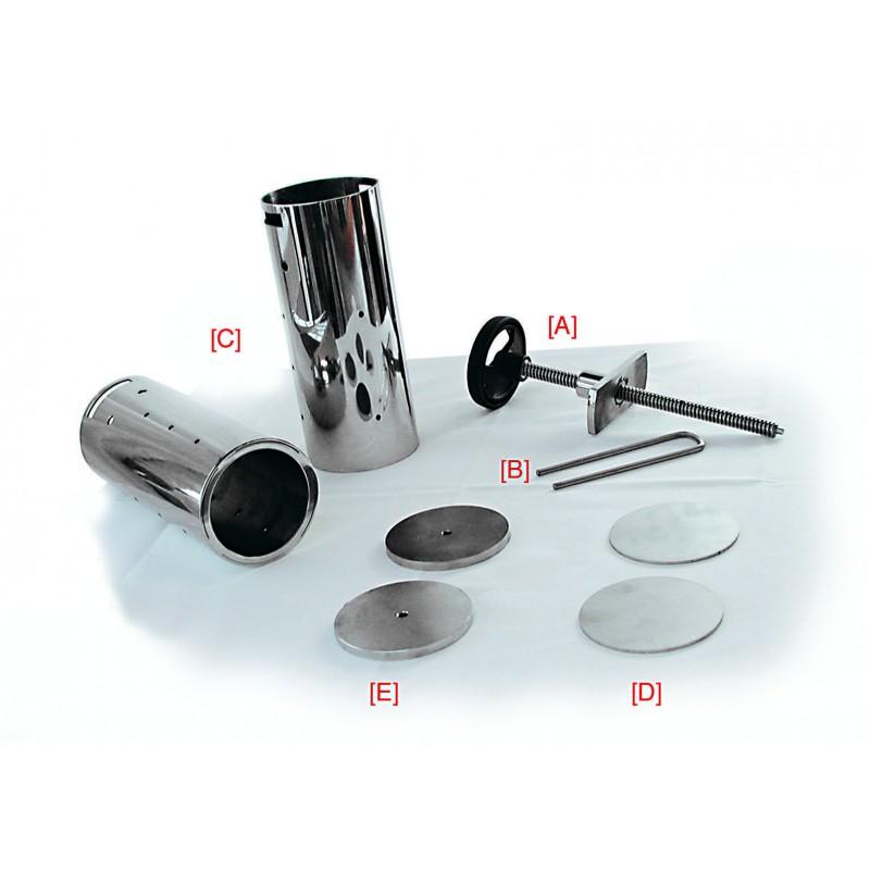 Pressapolipo acciaio inox accessori cucina paderno for Accessori cucina acciaio