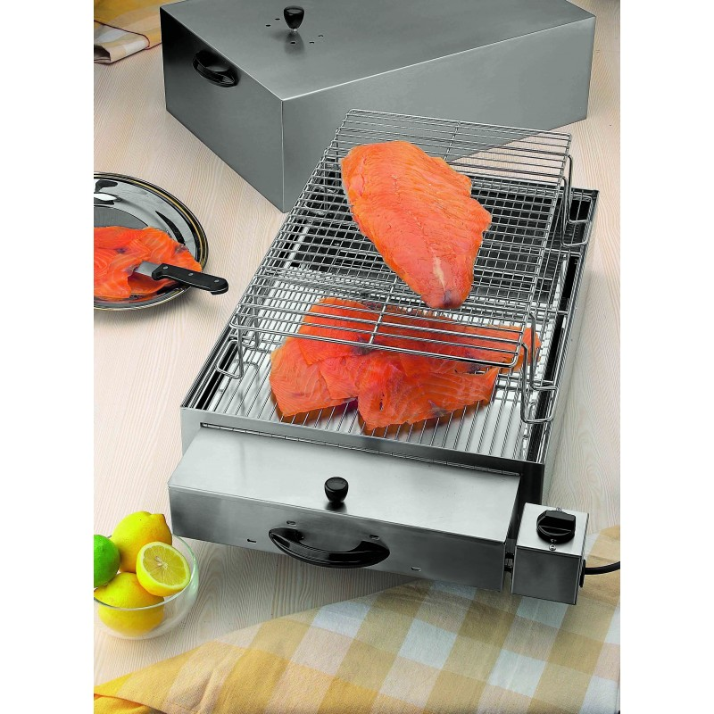 Affumicatoio 2 piani helia attrezzature cucina professionali paderno - Attrezzature professionali cucina ...