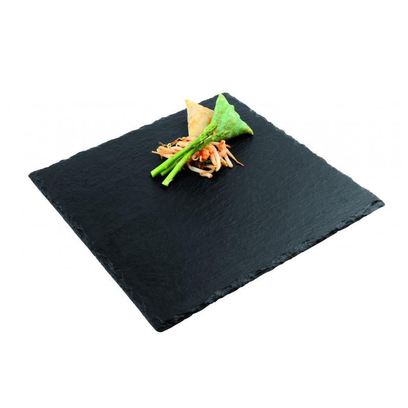 piatti in ardesia in forniture sala ristoranti. Black Bedroom Furniture Sets. Home Design Ideas